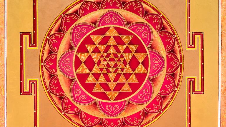 Mandala - Gold Tantra Yantra